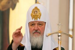 Patriarch Kirill with staff